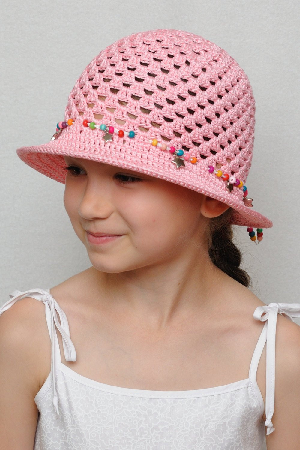 Best Of Crochet Summer Hat Girls Sun Hat Girls Summer Hat by Crochet Summer Hat Of Awesome 45 Images Crochet Summer Hat