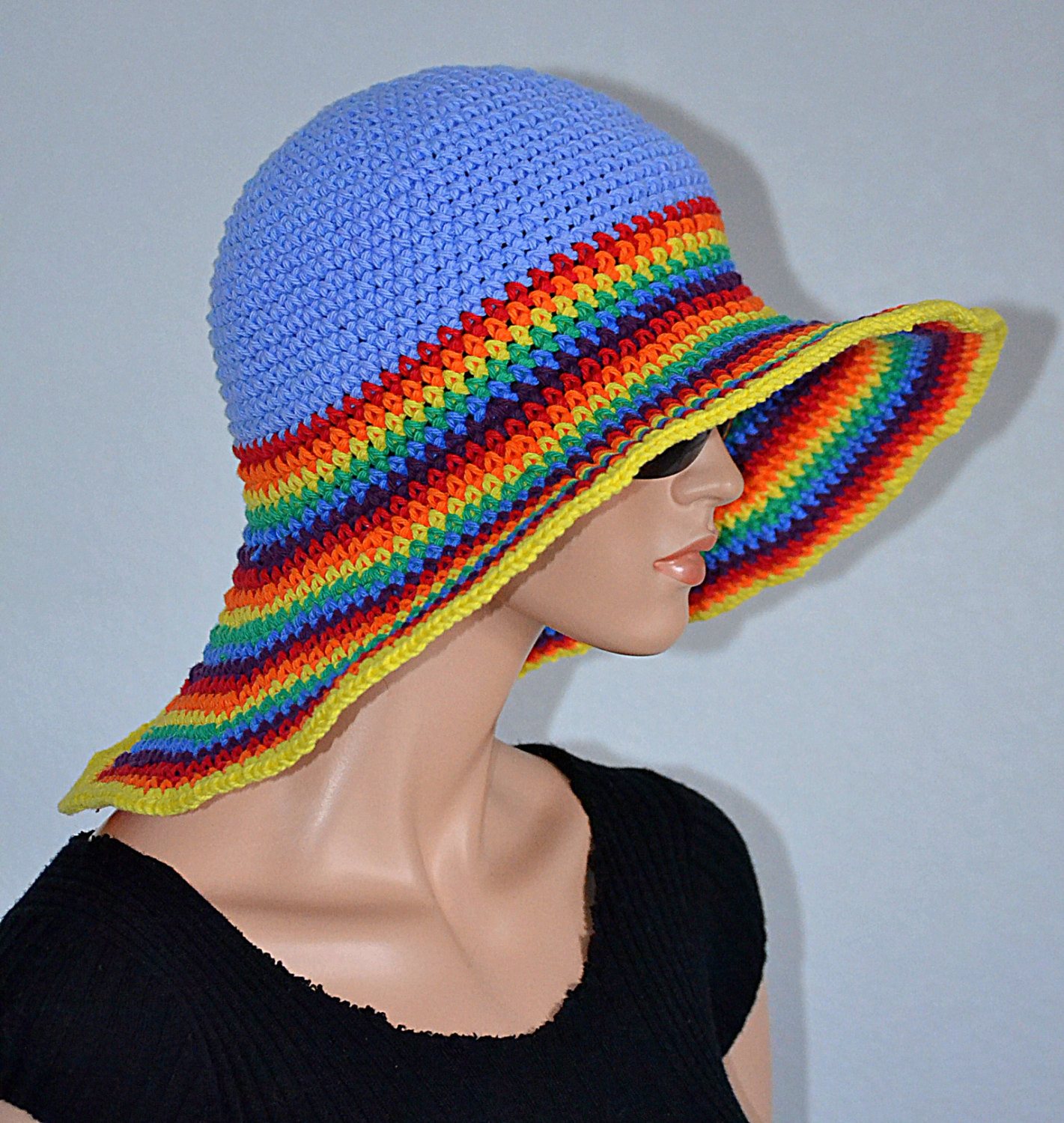 Best Of Crochet Summer Hat Handmade Sun Hat Cotton Beach Hat Crochet Summer Hat Of Awesome 45 Images Crochet Summer Hat