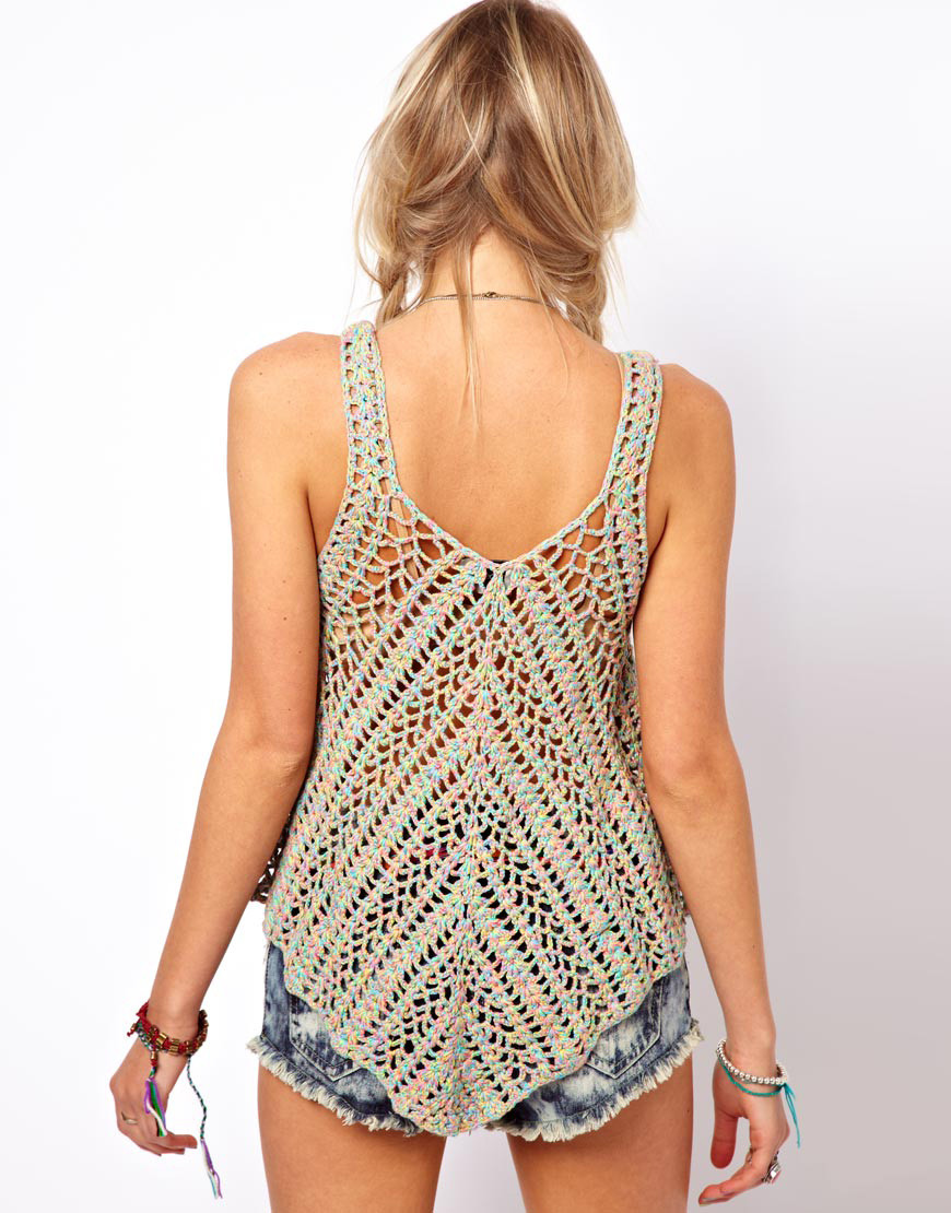 Best Of Crochet top Pattern Detailed Instructions In English for Crochet Tank top Pattern Of Top 50 Images Crochet Tank top Pattern