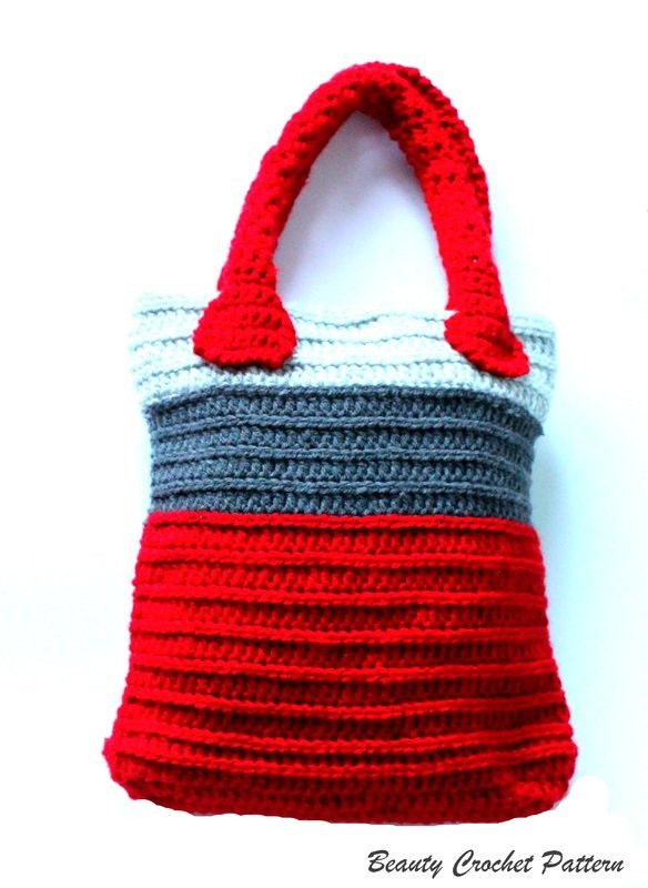 Best Of Crochet tote Bag Pattern Crochet tote Of Adorable 41 Images Crochet tote
