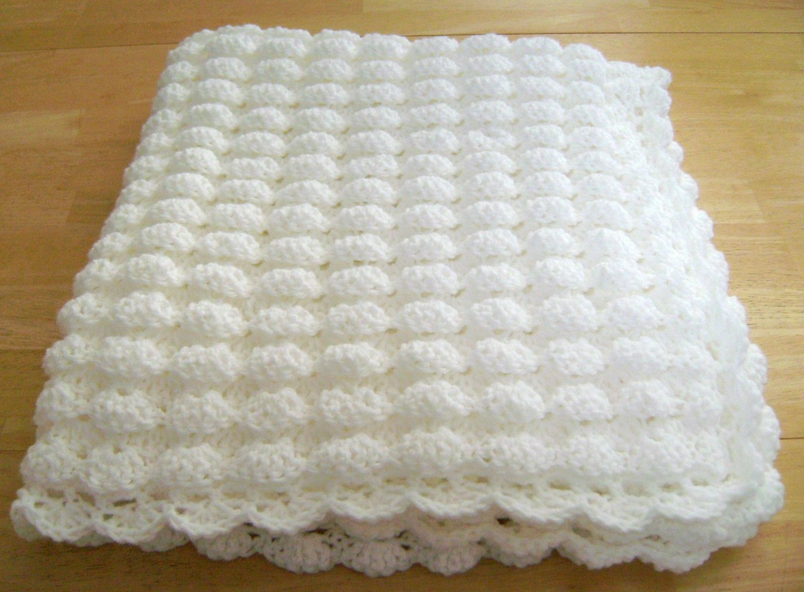 Best Of Crochet White Baby Blanket Shell Pattern Handmade Girl Boy Crochet Shell Baby Blanket Of Lovely 50 Ideas Crochet Shell Baby Blanket