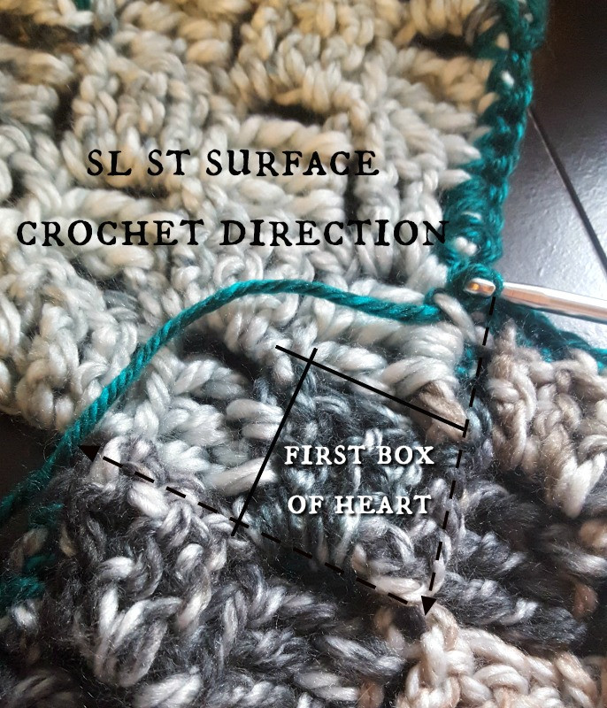 Best Of Crocheted Pixel and Lace Heart Scarf Part 2 Teadoddles Sl St Crochet Of Innovative 46 Pics Sl St Crochet