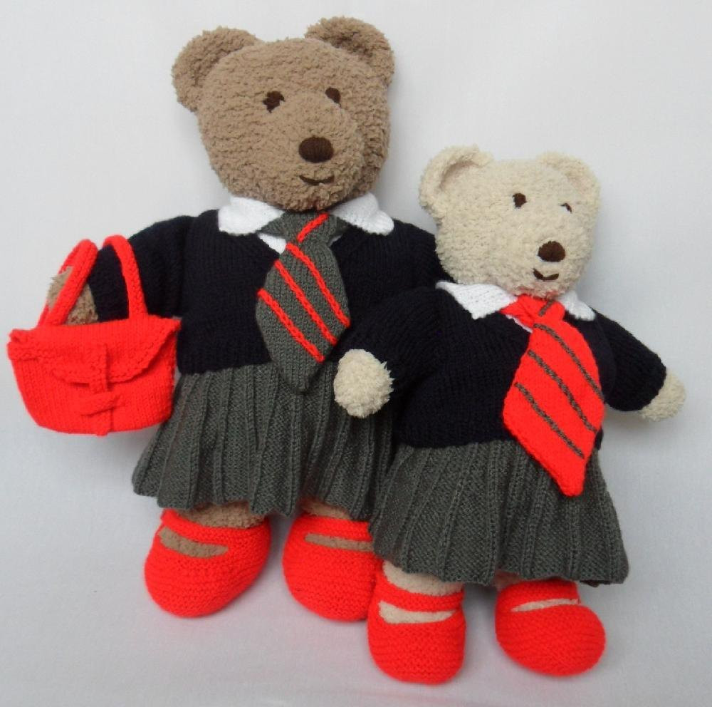 Cuddle and Snuggle Teddy Bear Clothes School Uniform