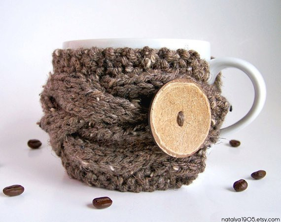 Best Of Cup Cozy Coffee Sleeve Chunky Knit Coffee Cozy Tea Cozy Knit Coffee Cozy Of Luxury 48 Photos Knit Coffee Cozy