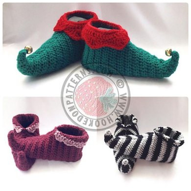 Best Of Curly toes Elf Slipper Shoes Crochet Pattern by Hooked On Crochet Elf Slippers Of Luxury 41 Pictures Crochet Elf Slippers