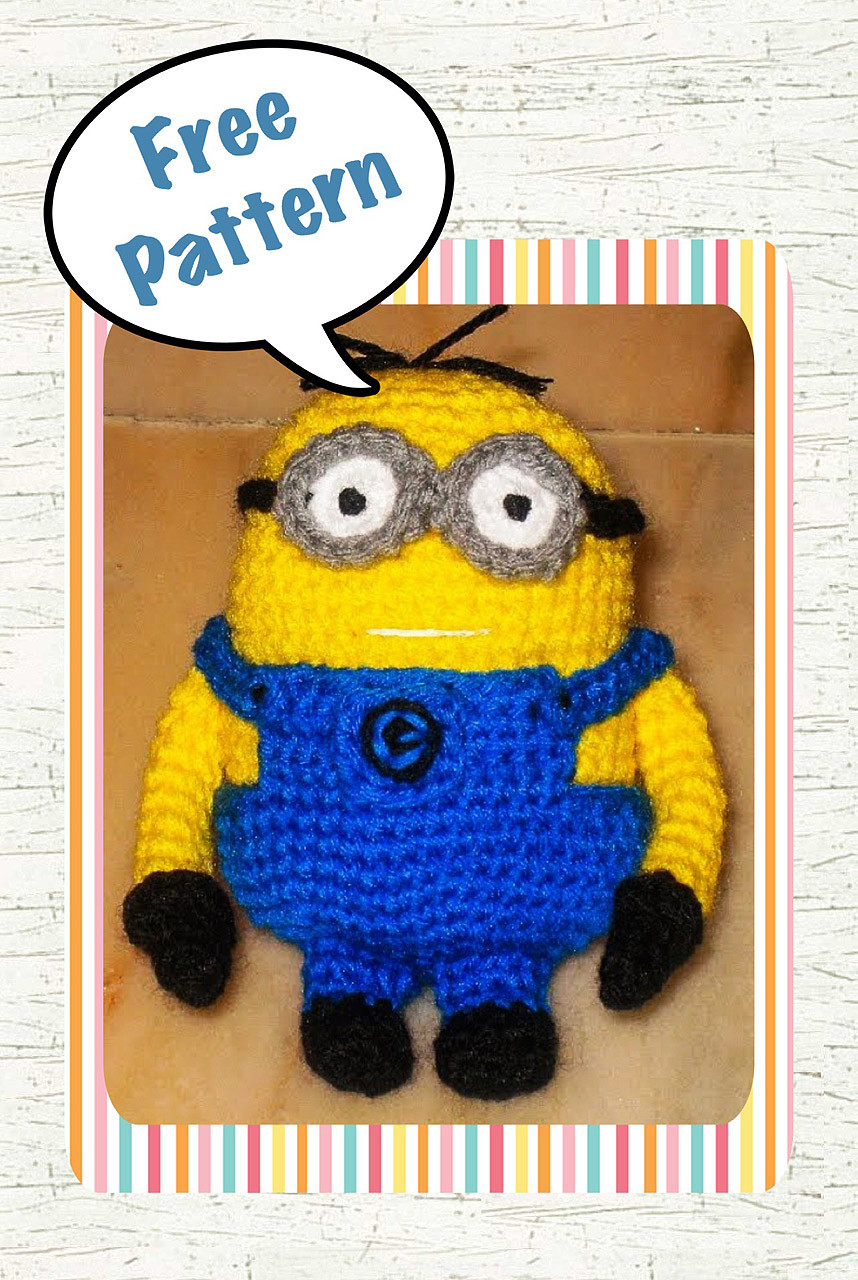 Best Of Despicable Me Minion Crochet Pattern Free Snacksies Free Minion Crochet Pattern Of Marvelous 44 Images Free Minion Crochet Pattern