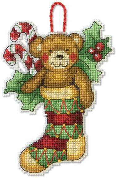 Best Of Dimensions Bear Christmas ornament Cross Stitch Kit 70 Cross Stitch Christmas ornament Kits Of Gorgeous 46 Models Cross Stitch Christmas ornament Kits