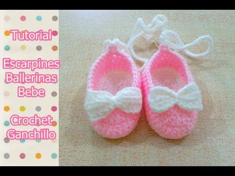 Best Of Diy O Tejer Escarpines Ballerinas Zapatitos Para Bebe Tejer A Crochet Para Bebe Of Adorable 50 Pics Tejer A Crochet Para Bebe