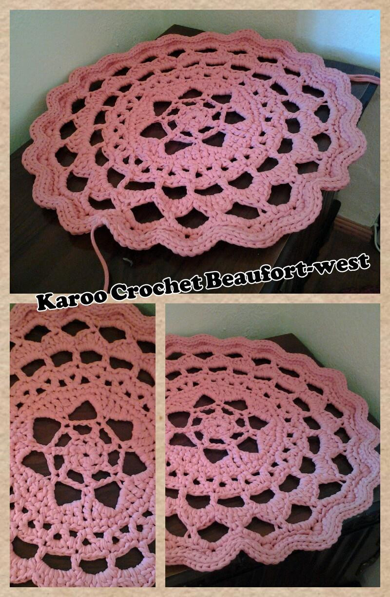 Best Of Doily Rugs with T Shirt Yarn – Crochet In Paternoster Doily Rug Of Fresh 50 Pics Doily Rug