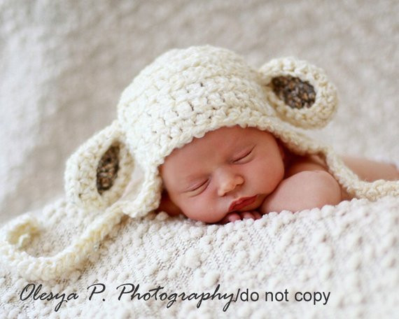 Best Of Download Pdf Crochet Pattern 047 Sheep Earflap Hat Multiple Lamb Hat Of Awesome 46 Images Lamb Hat