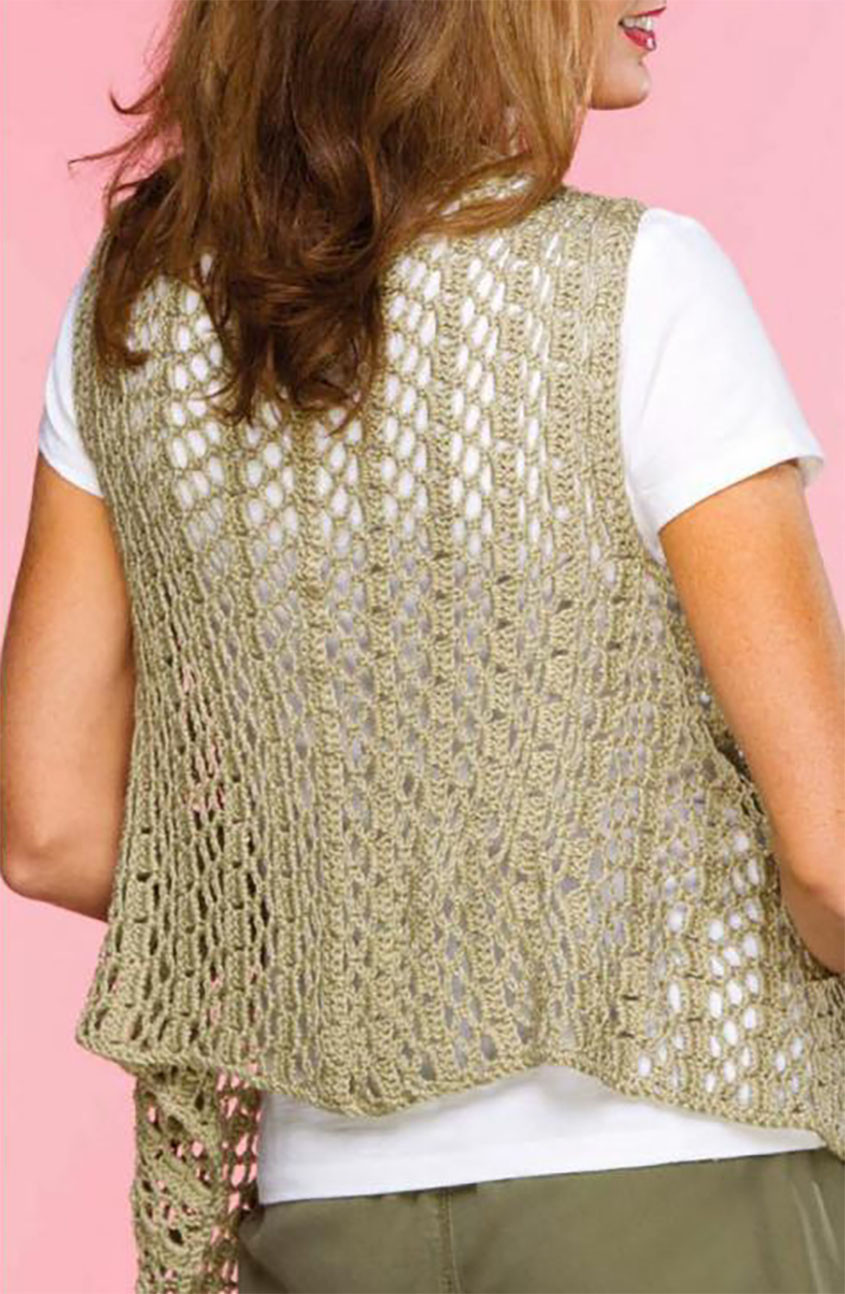 Best Of Draped Crochet Vest Pattern Free Crochet Womens Vest Patterns Of Great 41 Pics Free Crochet Womens Vest Patterns