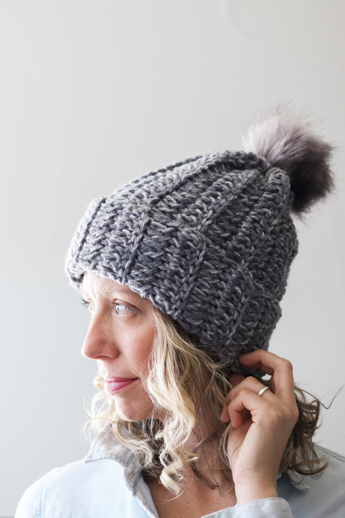 e Hour Free Crochet Hat Pattern for Beginners Video