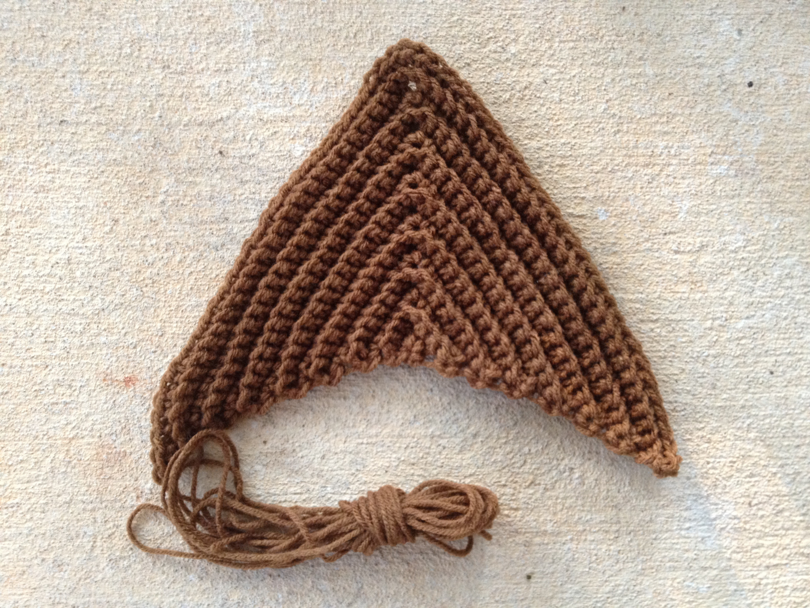 Best Of E Large Textured Triangle Crocheted with Red Heart Crochet Triangles Of Charming 42 Images Crochet Triangles