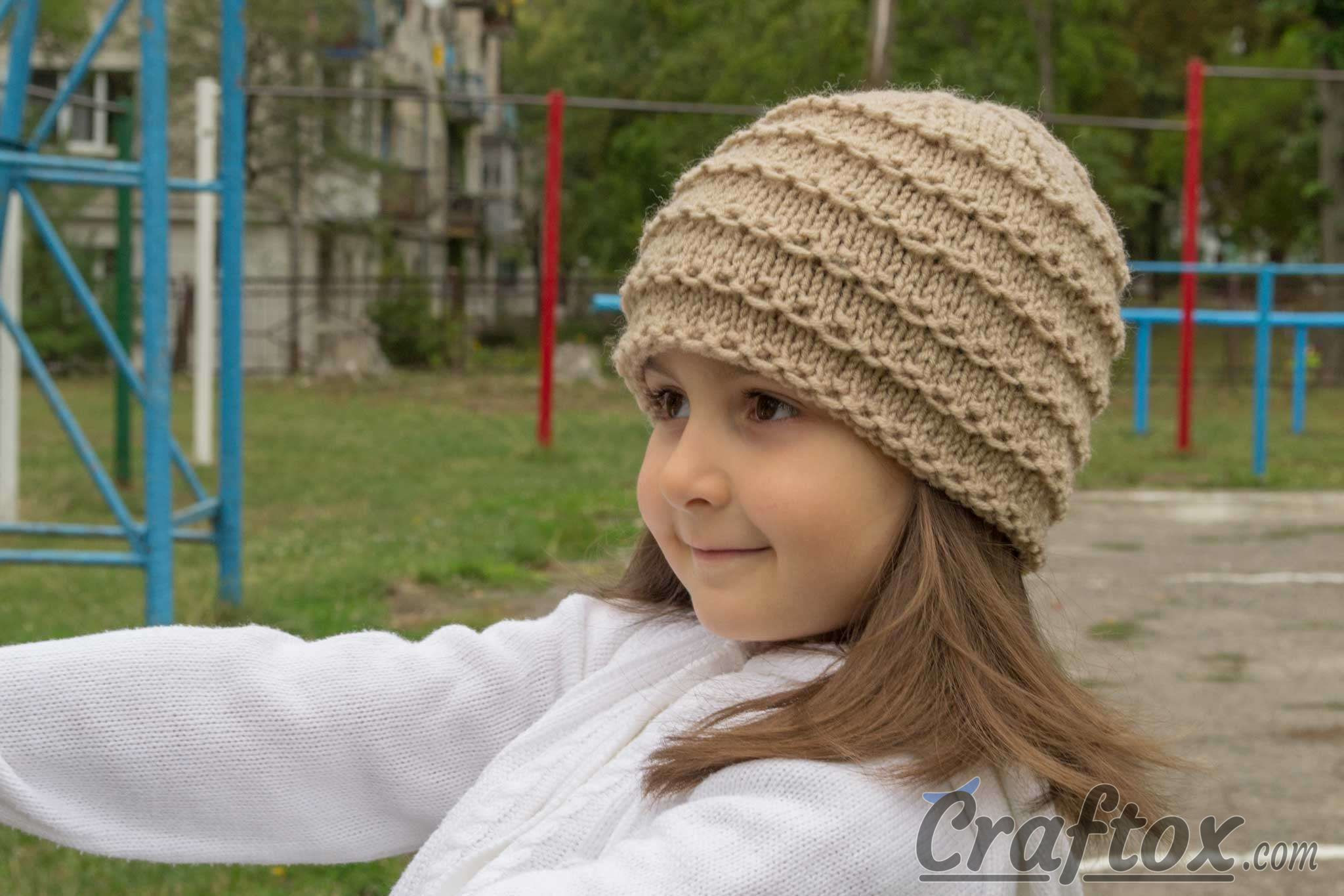 Best Of Easy Beanie Knitting Pattern Free Easy Knit Hat Pattern Free Of Top 45 Pictures Easy Knit Hat Pattern Free