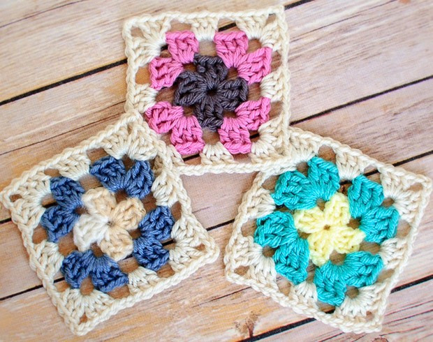 Best Of Easy Beautiful Granny Squares – Free Crochet Pattern Easy Granny Square Pattern Of Amazing 41 Pictures Easy Granny Square Pattern