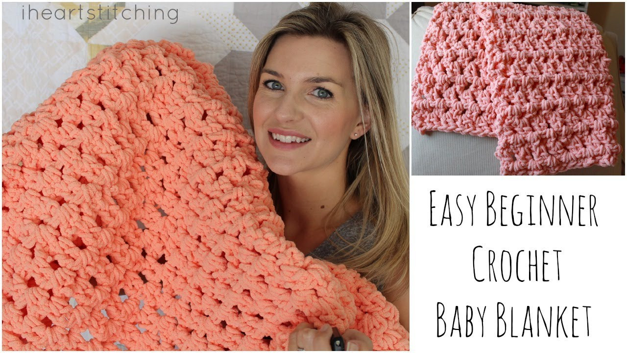 Best Of Easy Beginner Crochet Baby Blanket Tutorial Youtube Crochet Videos Of Lovely 45 Images Youtube Crochet Videos