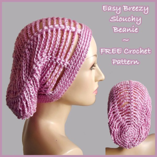 Best Of Easy Breezy Slouchy Beanie Free Crochet Pattern Simple Beanie Crochet Pattern Of Innovative 50 Ideas Simple Beanie Crochet Pattern