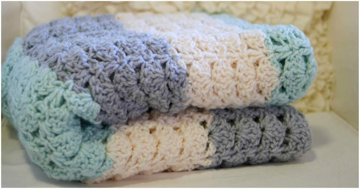Best Of Easy Crochet Shell [stitch Blanket] Stylesidea Crochet Shell Blanket Of Lovely 40 Pictures Crochet Shell Blanket