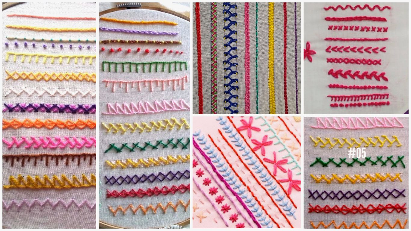 Best Of Easy Hand Embroidery Stitches for Beginners Tutorial Hand Embroidery Kits Beginners Of Gorgeous 45 Photos Hand Embroidery Kits Beginners