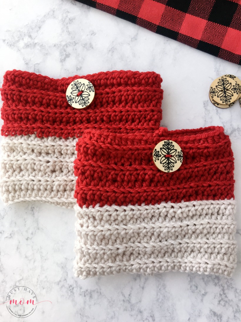 Best Of Easy Reversible Crochet Boot Cuffs Free Pattern Must Red Heart Chic Sheep Yarn Of Charming 41 Images Red Heart Chic Sheep Yarn