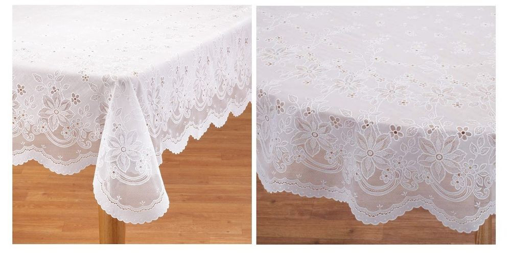 Best Of Elegant Vinyl Lace Tablecloth Easy Clean and Durable Crochet Lace Tablecloths Of Luxury 47 Images Crochet Lace Tablecloths