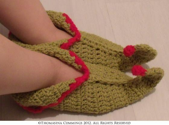 Best Of Elf Slippers with Curled toes by Tcdesignsuk Craftsy Crochet Elf Slippers Of Luxury 41 Pictures Crochet Elf Slippers