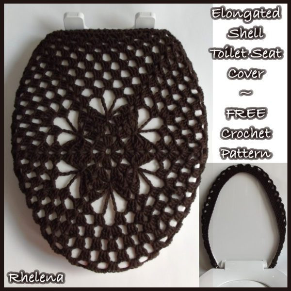 Best Of Elongated Shell toilet Seat Cover Free Crochet Pattern Crochet Seat Cover Of Great 40 Models Crochet Seat Cover