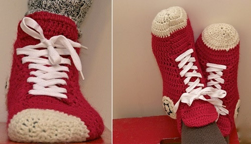 Best Of Fab Art Diy Crochet Adult Slippers Pattern Round Up Crochet Converse Slippers Of Amazing 40 Ideas Crochet Converse Slippers