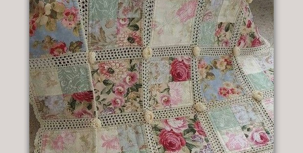 Best Of Fabric and Crochet Make A Lovely Quilt Quilting Digest Crochet and Fabric Quilt Of Top 45 Models Crochet and Fabric Quilt