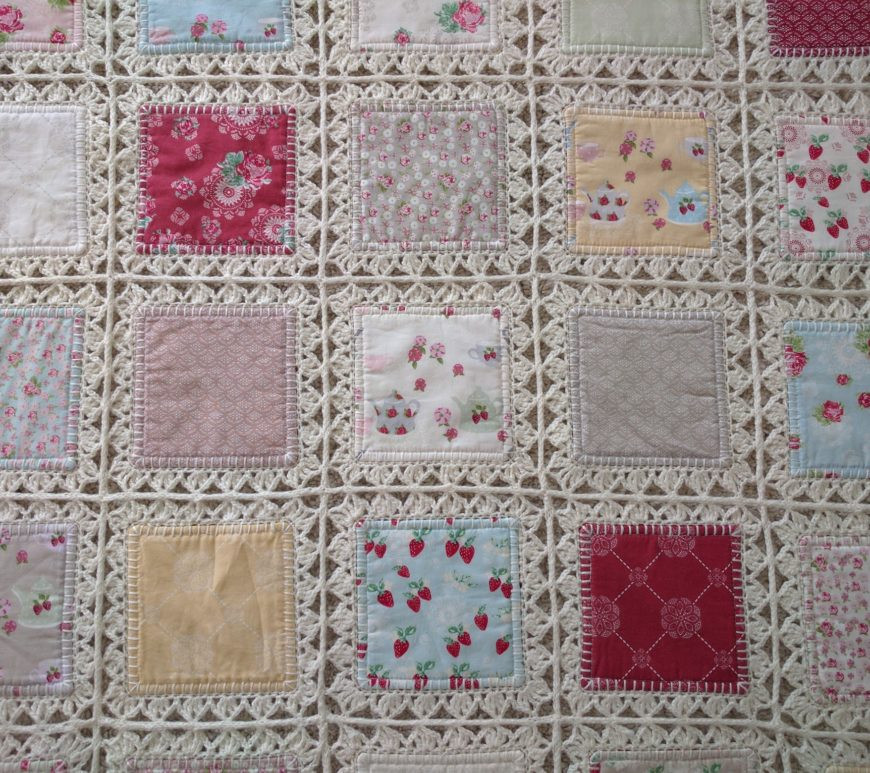 Best Of Fanny Lu Designs Crochet and Fabric Quilt Of Top 45 Models Crochet and Fabric Quilt