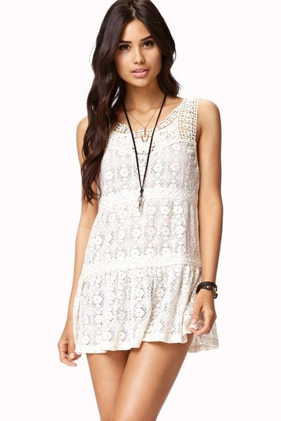 Best Of forever 21 Crochet Lace top In White Ivory Crochet tops forever 21 Of Beautiful forever 21 Scalloped Crochet top In Beige Cream Crochet tops forever 21