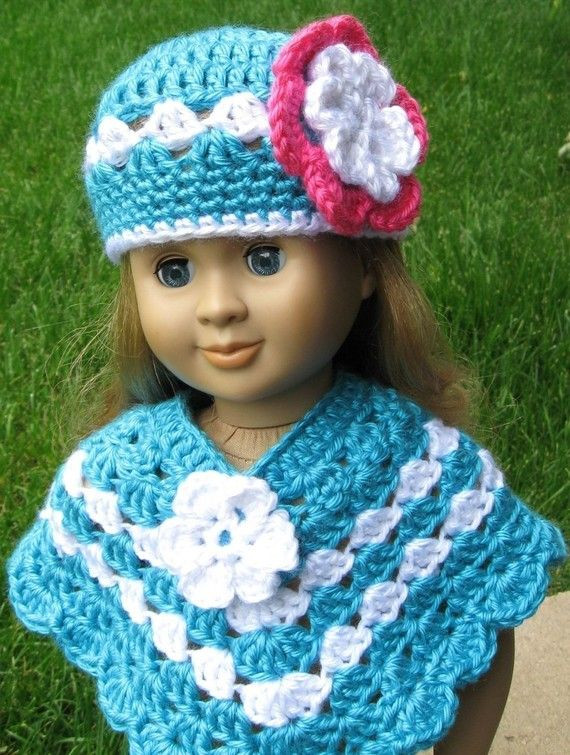 Best Of Free Crochet Doll Poncho Pattern Crochet and Knit Free Crochet Patterns for American Girl Dolls Clothes Of Adorable 50 Pictures Free Crochet Patterns for American Girl Dolls Clothes