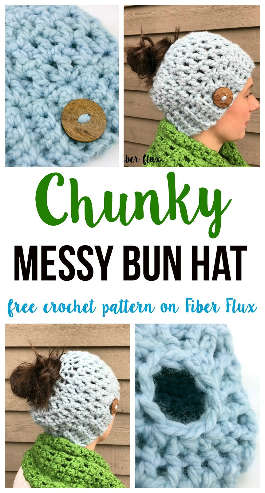 Best Of Free Crochet Pattern Chunky Messy Bun Hat Free Crochet Pattern for Messy Bun Hat Of Beautiful 47 Ideas Free Crochet Pattern for Messy Bun Hat