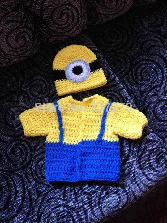 free crochet pattern for baby minion overalls