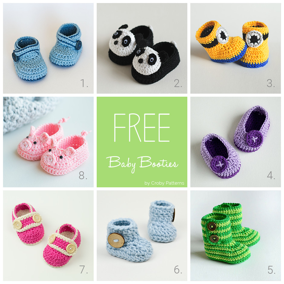 Best Of Free Crochet Pattern for Minion Baby Shoes Dancox for Free Baby Shoe Pattern Of Fresh 44 Photos Free Baby Shoe Pattern