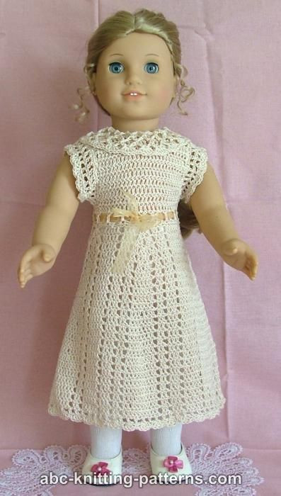 Best Of Free Crochet Patterns for 18 Inch Dolls Free Crochet Doll Dress Patterns Of Top 50 Photos Free Crochet Doll Dress Patterns