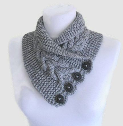 Best Of Free Knitting Pattern for Gray Cable Neckwarmer and More Neck Warmer Patterns Of Incredible 44 Images Neck Warmer Patterns