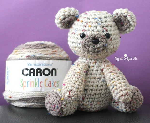 Best Of [free Pattern] Adorable Little Crochet Bear Made with Caron Sprinkle Cakes Patterns Of Delightful 48 Photos Caron Sprinkle Cakes Patterns