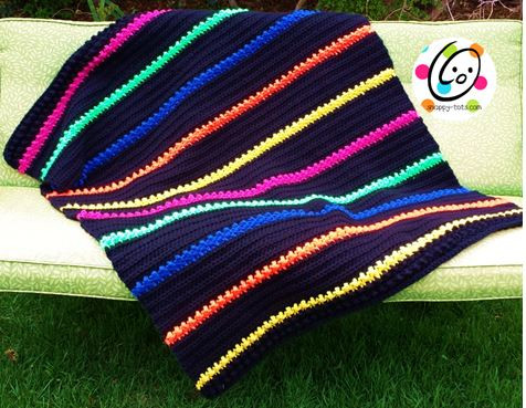 Free Pattern Lap Afghan Snappy Tots