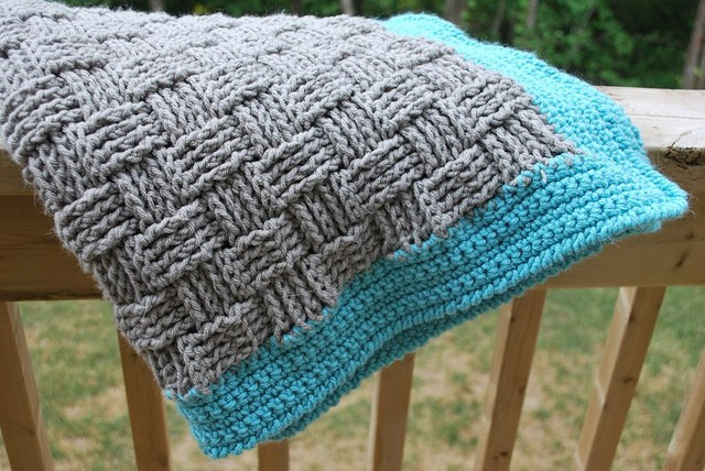Best Of [free Pattern] Super Easy Basketweave Baby Blanket Knit Basket Weave Blanket Of Amazing 45 Models Basket Weave Blanket