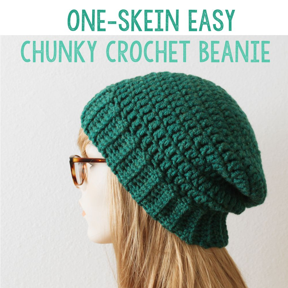 Best Of Free Perfect Easy Chunky Crochet Beanie Pattern Using Simple Beanie Crochet Pattern Of Innovative 50 Ideas Simple Beanie Crochet Pattern