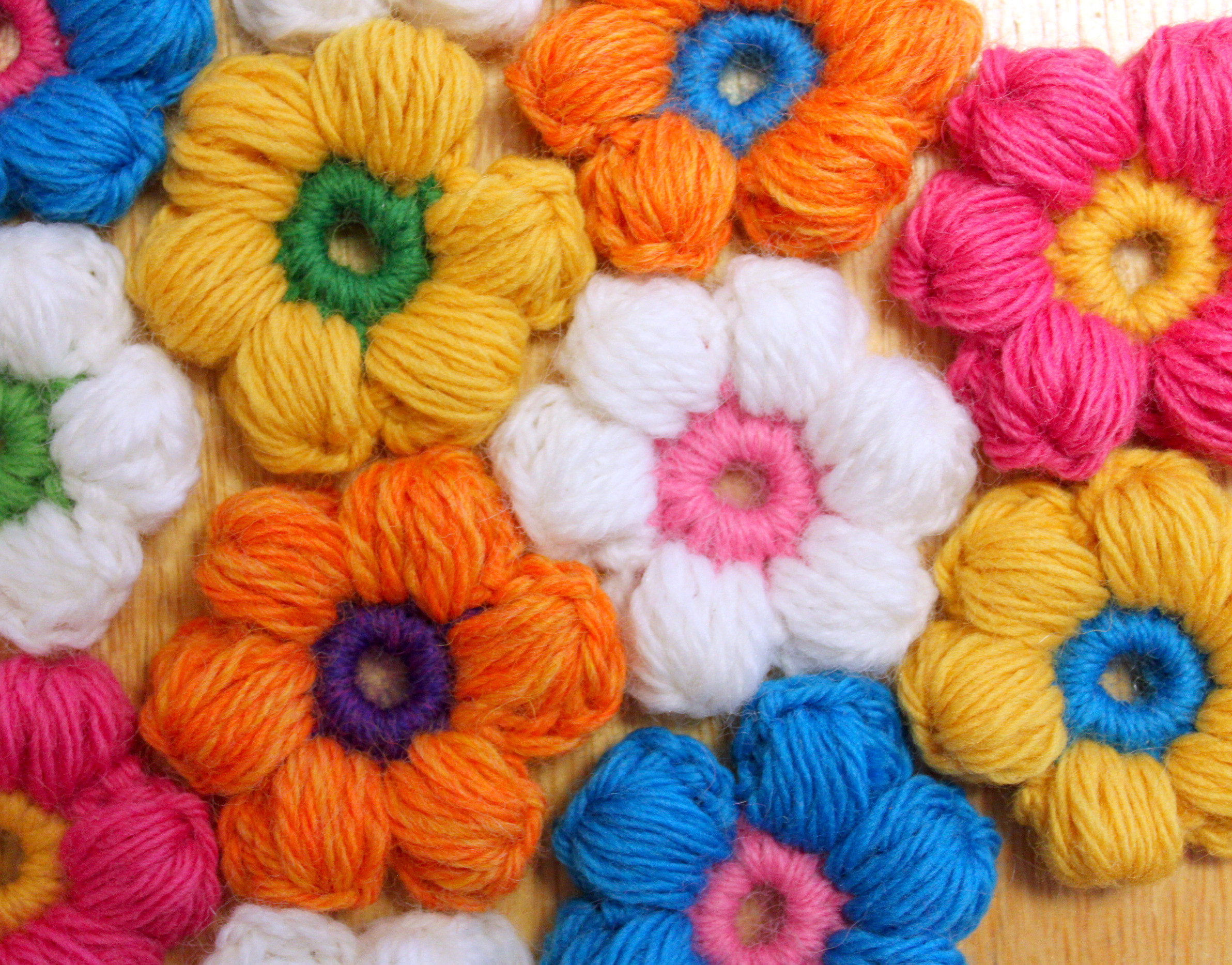 Best Of Free Puff Stitch Crochet Flower Patternmamachee Puff Crochet Of Great 49 Ideas Puff Crochet