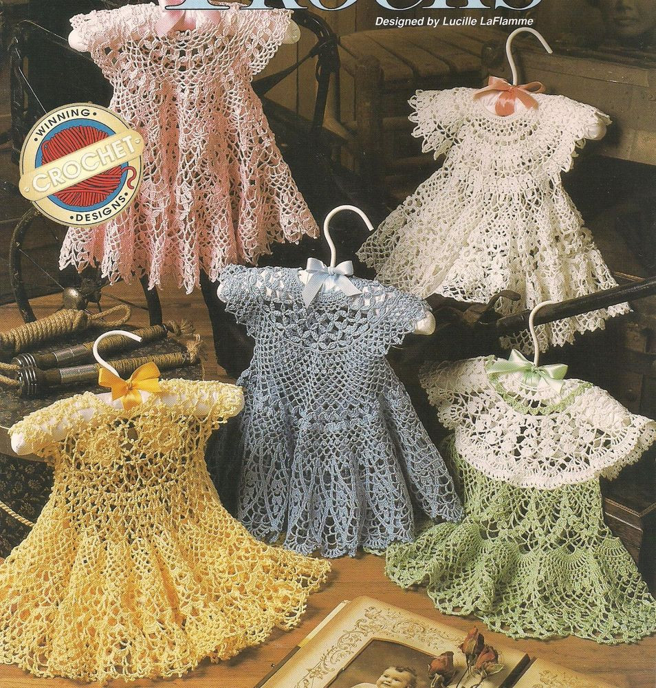 Best Of Frilly Frocks Thread Crochet Dress Pattern Heirloom 3 12mo Baby Dress Patterns Of Perfect 47 Models Baby Dress Patterns