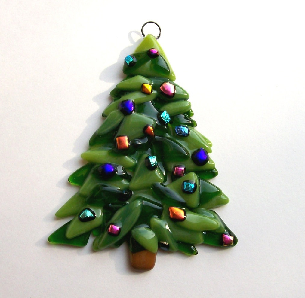 Best Of Fused Glass Christmas ornament Christmas Tree Glass Christmas Tree Decorations Of Great 42 Ideas Glass Christmas Tree Decorations