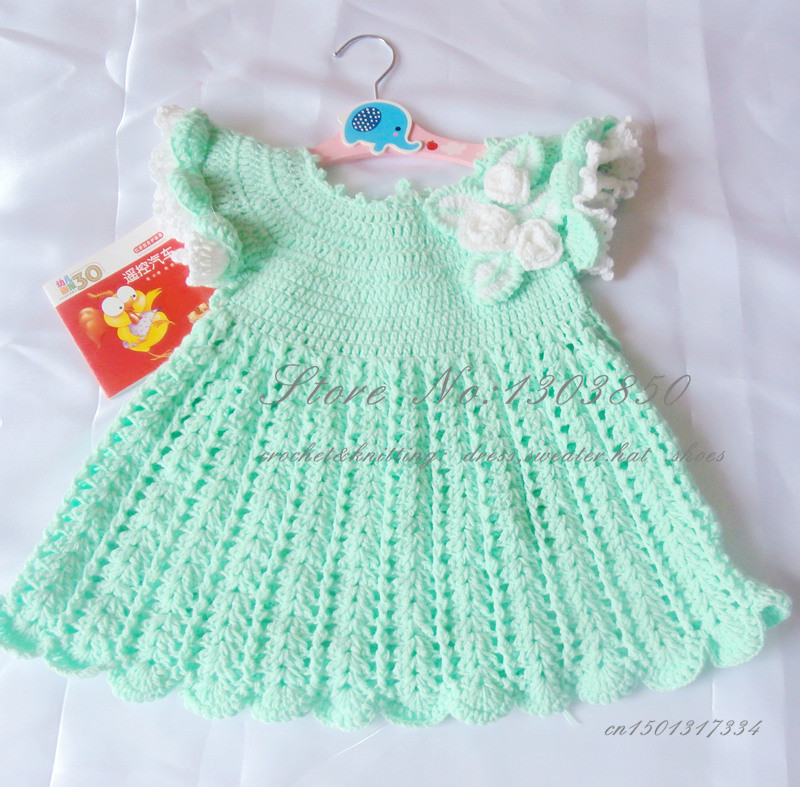 Best Of Girls Knit Dresses Knitted Baby Dress Of Brilliant 49 Photos Knitted Baby Dress