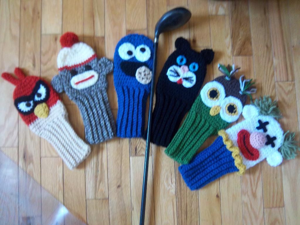 Golf Club Covers bo Pack by Suzi44 Craftsy