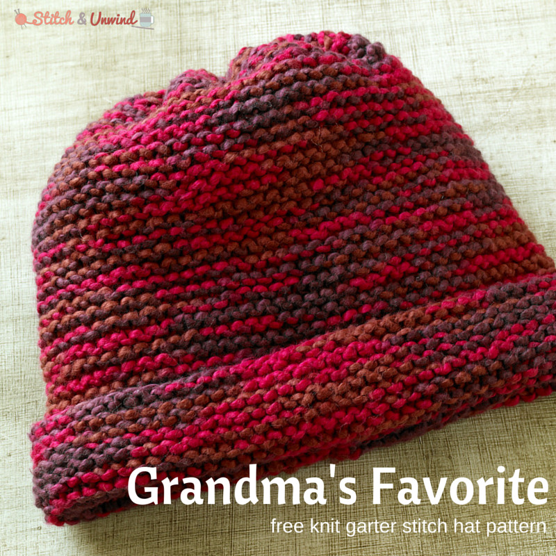 Best Of Grandma S Favorite Knitting for Beginners Easy Knit Hat Pattern Free Of Top 45 Pictures Easy Knit Hat Pattern Free