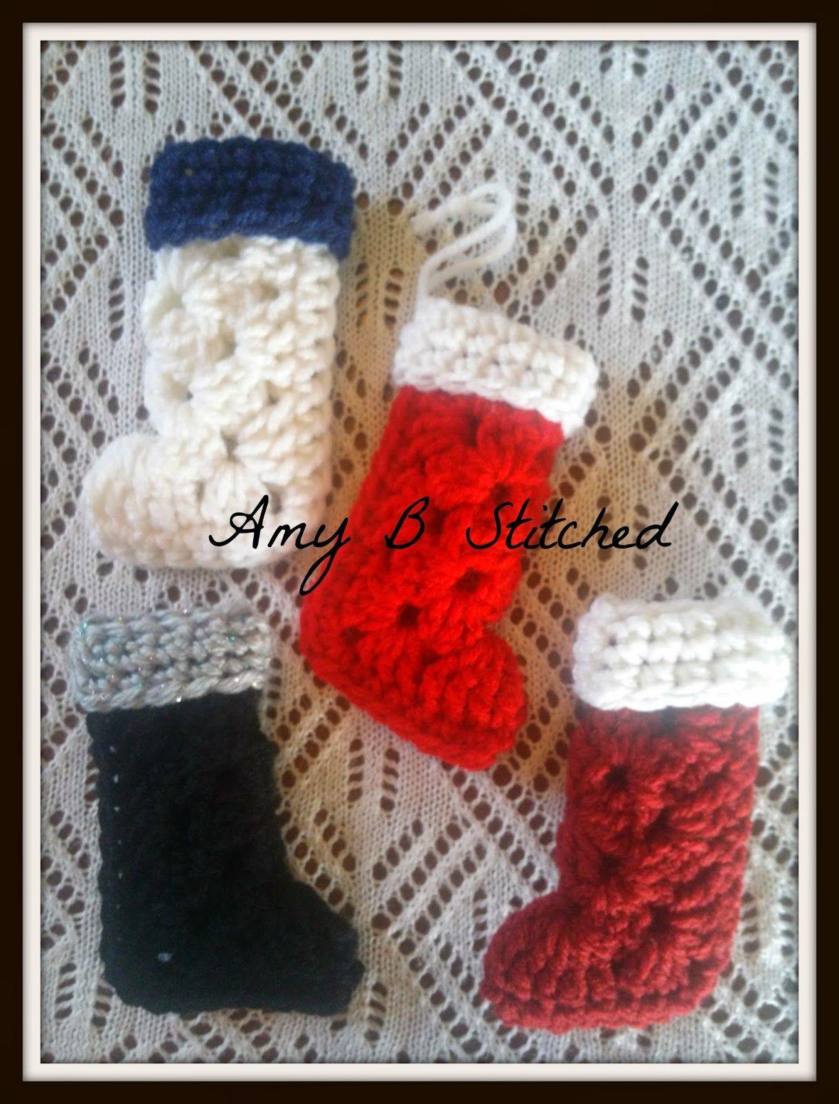 Best Of Granny Square Stocking ornament by Amy B Stitched Free Granny Square Christmas Stocking Crochet Pattern Of Amazing 44 Pics Granny Square Christmas Stocking Crochet Pattern