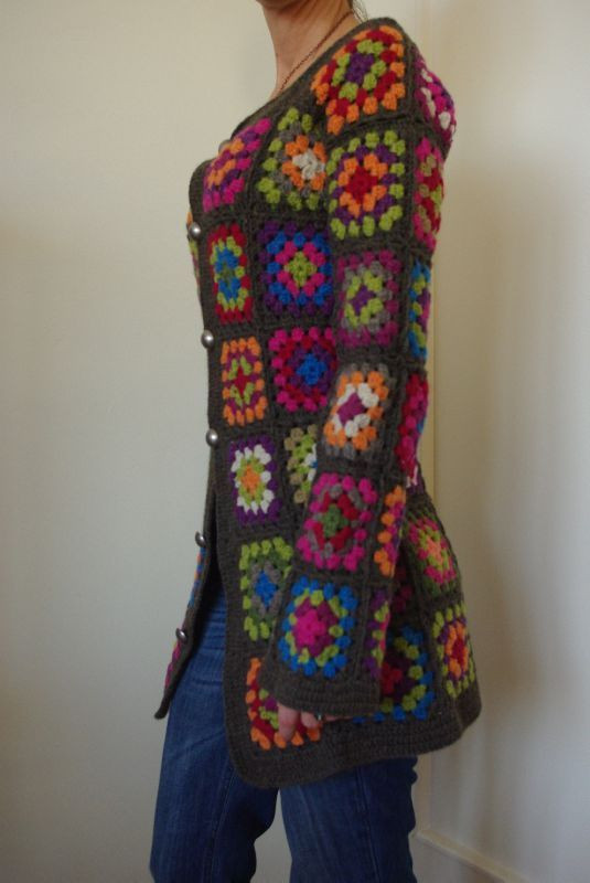Best Of Granny Square Sweater Knit & Crochet Granny Square Sweater Of Superb 45 Photos Granny Square Sweater