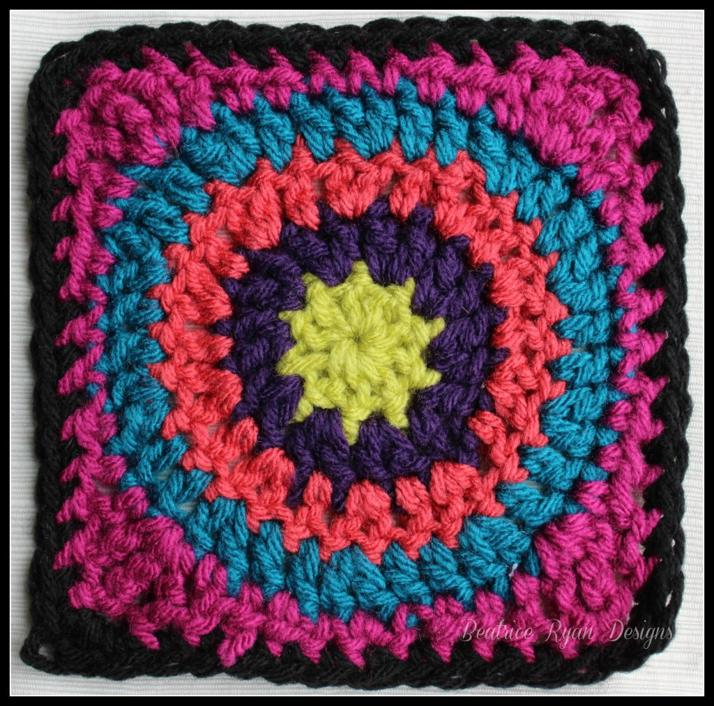 Best Of Granny's Circle In Square… Free Crochet Pattern Granny Circle Crochet Pattern Of Innovative 45 Models Granny Circle Crochet Pattern